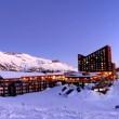 Snowpark y Hotel Valle Nevado
