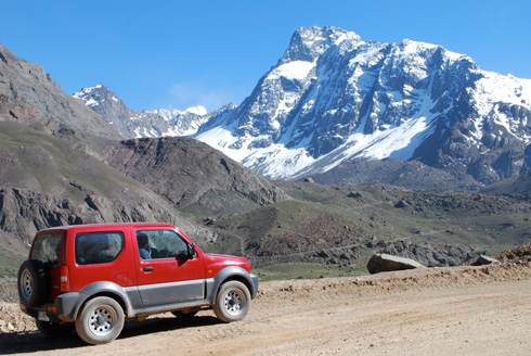 Driving A Rental Car From Argentina To Chile